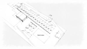 Plan vue aérienne n° parcelles